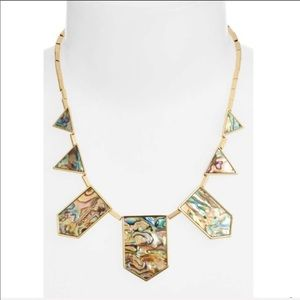 House of Harlow- gorgeous abalone statement piece